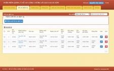 Phần mềm quản lý hồ sơ công chứng và dịch vụ đi kèm