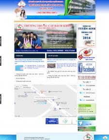 Trường trung cấp bách khoa Quảng Nam-web trường học